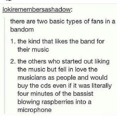 The bassist.....? Yeah idk though. He's just the bassist haha<----ummm WAT?! bassists are just as important and great as anyone else in a band