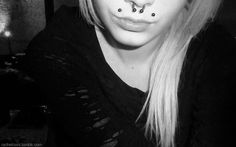 angel bites<3 and septum.