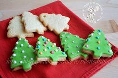 Biscotti albero di Natale decorati