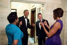 A-Listers Party At The White House Until Morning To Say Goodbye To Obama