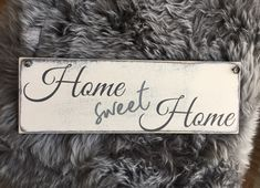 Holzschild Facebook Sign Up, Sweet Home, House Beautiful