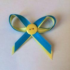 Donate 20 to Ukraine Yellow Blue Ukrainian Awareness Bow Pin Donation