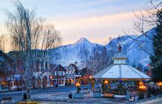 Plan your next winter family vacation to one of these charming small towns around the U.S.