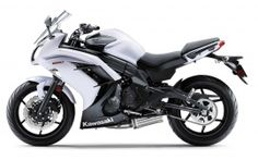 2013 kawasaki ninja 650 white color
