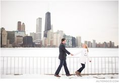 Olive Park Engagement Photos | Chicago Engagement Photos | Chicago Engagement…
