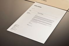 Strong text layout - Gabriel Saunders Branding Letter