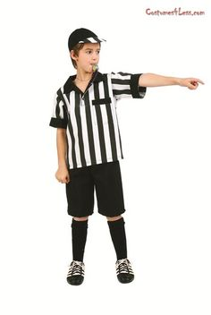 Referee Preteen Boy Costume at Costumes4Less.com