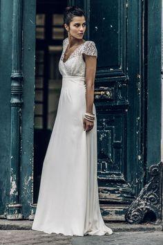Modèle Zola, Laure de Sagazan : Les plus belles robes de mariée 2016 - Journal des Femmes
