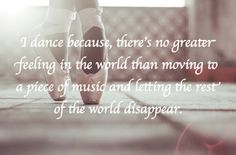 lovely quote about dance