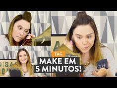 Chata de Galocha ensina a fazer make em 5 minutos nesse tutorial de maquiagem.