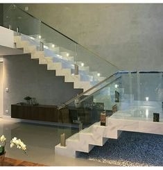 design your own home Home Stairs Design, Stair Railing Design, Dream Home Design, Home Interior Design, Interior Paint, House Staircase, Staircase Railings, House Front Design, Modern House Design
