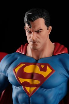 Here tha printed and painted version of my Superman statue fan art! I really hope you like it my friends! Superman Artwork, Batman And Superman, Comic Character, Character Design, Dc Comics Characters, Nerd, Big Hugs, Male Figure, Man Of Steel