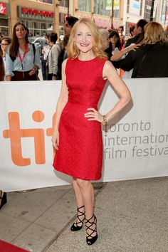 """Patricia Clarkson at the """"Learning to Drive"""" premiere - TIFF Fashion"""