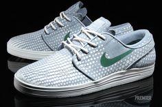 Nike SB Lunar Stefan Janoski | Dove Grey and Gorge Green