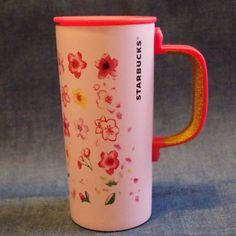 F/S New Starbucks JAPAN stainless Mug cup SAKURA cherry blossom 2017 Pink cork #srarbucks