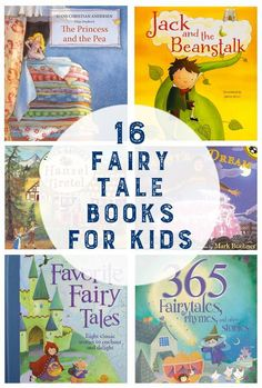 Online homeschool groups 16 Fairy Tale Books for Kids List Of Fairy Tales, Fairy Tales Unit, Fairy Tales For Kids, Traditional Literature, Traditional Tales, Preschool Books, Preschool Activities, Fairy Tale Theme, Fairy Tale Crafts