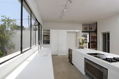 Hertzeliya Pituach, villa L. IL  Size: 450 sq.m. Status: completed 2007  The villa is located at the heart of Hertzelia Pituach, an upscale neighborhood outside of Tel aviv. An open, flexible public s