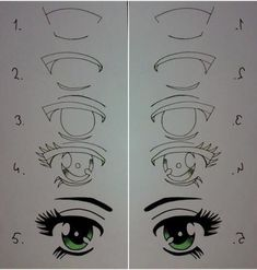 Imagen de eyes, drawing, and draw