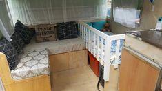 Caravan cot or crib #campinghammockideas
