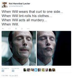 Hannibal: When Will (lol) Hannigram hannibal x will Hannibal Lecter, Hannibal Funny, Hannibal Tv Series, Hannibal Cast, Favorite Words, Favorite Tv Shows, Will Graham Hannibal, Def Not, Hugh Dancy