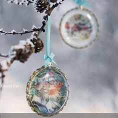 Zauberhafte Weihnachtsdeko zum Aufhängen