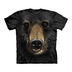 Black Bear Face Tee