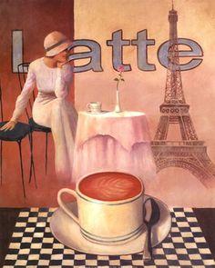 Heaven is having a Latte in Paris!