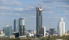 Cities with most skyscrapers in Europe - Yekaterinburg, Russia
