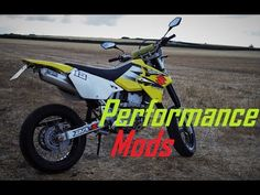 Upgrades & modifications to give engine performance and horsepower improvements for your Suzuki DRZ 400 SM, S or E. Amp, Youtube, Youtubers, Youtube Movies