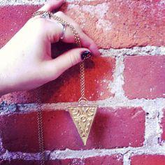 New alchemy pendants hand built from wax and cast in solid brass. $62. Find them today at @creativebabes #cheersmarket2015 #phyllisandhazel #shoplocal #handmade #instasmithy #riojeweler #metalsmith #shopsmall #handmadefortheholidays #jewelry #casting #brass