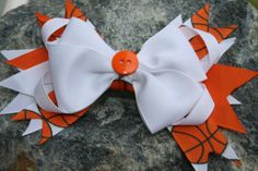 Handmade basketball large boutique style by RockabillyBabyPlace, $3.50