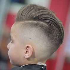Pompadour with High Skin Fade Cool haircuts for boys Popular Boys Haircuts, Cool Boys Haircuts, Toddler Boy Haircuts, Trendy Haircuts, Boys Mohawk, Short Mohawk, High Skin Fade, Kids Cuts