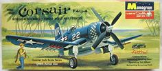 Monogram plastic model kits