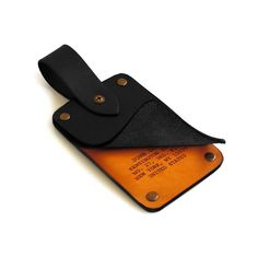 Leather Luggage Tag Personalized laser engraved by AtelierPall