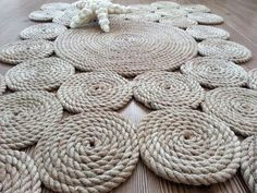 """Текстиль, ковры ручной работы. Ярмарка Мастеров - ручная работа Коврик """"Сатурн"""". Handmade."""