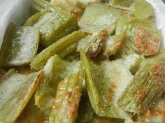 Cardi gratinati Arancini, Italian Cooking, Fresh Rolls, Broccoli, Potato Salad, Side Dishes, Cardi, Cabbage, Food And Drink