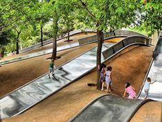 Els parcs i jardins, excuses perfectes per sortir amb els nens