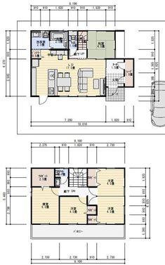 Japanese Style House, Craftsman Floor Plans, Soft Flooring, Japanese Architecture, My House, House Plans, Interior Decorating, Layout, House Design