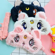 Buy Lovely Eyeshade Sleeping Mask Travel Cartoon Anime Sailor Moon Blindfold Eye Cover at Wish - Shopping Made Fun Sailor Moon Birthday, Sailor Moon Party, Sailor Moon Luna, Sailor Moon Hair, Sailor Moons, Sailor Jupiter, Sailor Moon Crystal, Cute Sleep Mask, Sailor Moon Personajes
