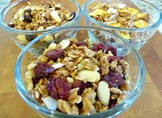 Recipe for soaked granola. Oats are very high in phytates, which means in order to reap the health benefits, they MUST be soaked. I will be making this all the time!!!!