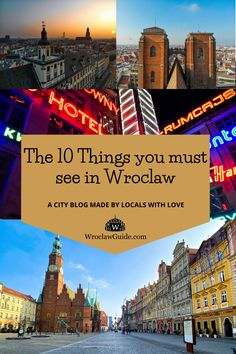 Looking for the things you should not miss in Wroclaw? We tell you about the 10 things you must do in Wroclaw! Enjoy sightseeing in Wroclaw with us! Stuff To Do, Things To Do, Poland Travel, Cultural Events, The 10, Walking Tour, Old Town, Travel Guide, Told You So