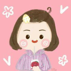 Profile Avatar, Anime Chibi, Hello Kitty, Cartoon, Manga, Cute, Kids, Walls, Fictional Characters