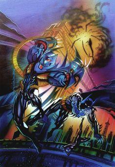 Batman: Shadow of the Bat Vol 1 30 World Of Warcraft, Art Warcraft, War Craft, Mortal Kombat X, Black Lightning, Fandom, Wow Art, Fantasy Warrior, Batman Art