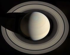 NASA's Astronomy Picture Of The Day: Saturn From Above