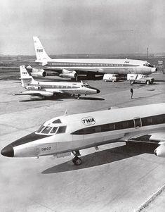 Trans World Airlines (TWA) setzte zwei Lockheed L-1329 JetStar mehrere Jahre lang als Trainingsflugzeuge für ihre Jet-Besatzungen ein. Foto und Copyright: KL-Dokumentation