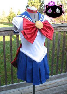 Sailor Chibi Moon / Sailor Moon Cosplay Costume by Ridikitty, $140.00