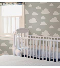 WallPops® NuWallpaper™ Grey Clouds Peel & Stick Wallpaper | Online Only Product