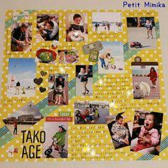 12インチアルバム | 西宮・神戸【写真を可愛くデコって保存・整理】アルバム作りのお手伝い&スクラップブッキング☆Petit Mimika☆