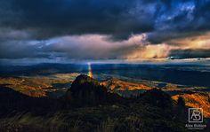 My rainbow #rainbow #Romania #Cozia #alexbobica #photography #mountains