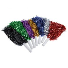 Metallic Pom Poms   Party Supply Store   Novelty Toys   Carnival Supplies   USToy.com
